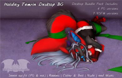 Sexy Holiday Desktop Background by Temrin