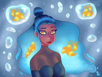 Destinyblue Draw This in Your Style Challenge by Blinkingpink