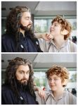 Bilbo and Thorin when nobody sees them xD by Miru-sama
