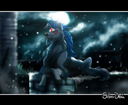 Commission: Lil-Twilight-Wolf by SilverDeni