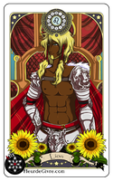 Astrology deck card: Leo by Alix-Aethusa