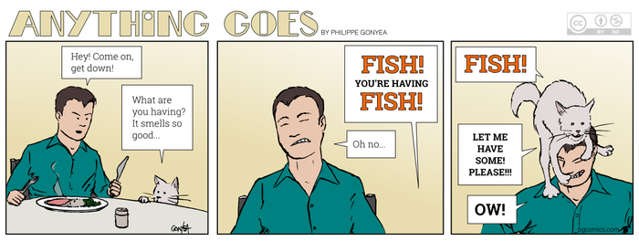 Anything Goes 027 - Fish! by Quebecman