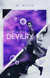 Virtuous Devilry | Wattpad Cover by miserableyouth