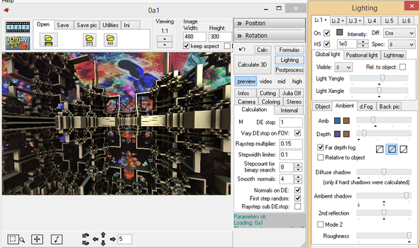 How to Add a Background Image to Mandelbulb 3D by DsyneGrafix
