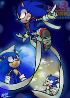 Sonic's 23rd thing by ArtisyOne