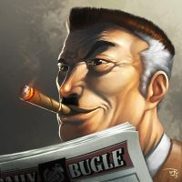 THE-BUGLE-LORD by totmoartsstudio2