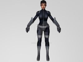 Quake/Daisy Johnson (MarvelFF) 3DModel by Pitermaksimoff