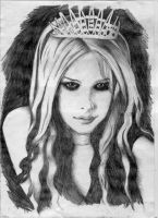 Avril Lavigne by thehiddenworld