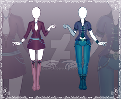 [Close] Adoptable Outfit Auction 28-29 by Kolmoys
