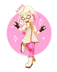 Perla Splatoon2 by UkyoLovest