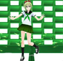 School GUMI - Download by SapphireRose-chan
