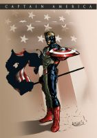 CAPTAIN AMERICA by caananwhite