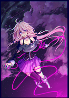 IA: radial song [+speedpaint] by BlueFly-shi