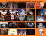 Top 25 Scary Face and Evil Grins 2 by artdog22