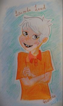 Lincoln Loud Fanart by GabyCoutino