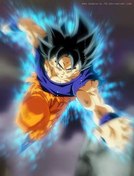 Goku Self Control - Universe Survival by SenniN-GL-54