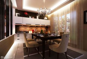Townhouse Dining Room by vaD-Endz