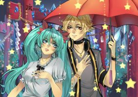 Commission/vocaloids by Mariko-chan94