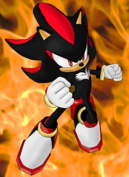 Shadow The Hedgehog by Metal-Overlord