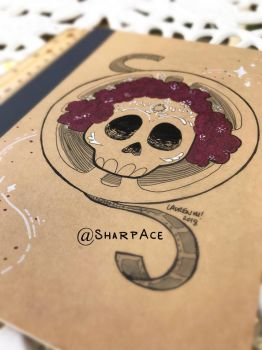 Old Hollywood Notebook by SharpAce