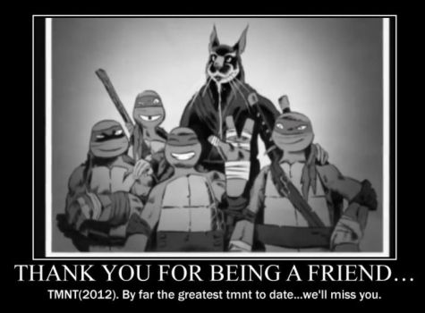 Thank you for being a friend TMNT 2012 by Mysterious-Ham