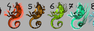 OPEN7 /10 Adoptable 25 *freinn dragon* by PurpleFire-Adopts