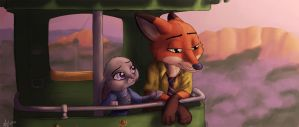 Zootopia by xSnarfy