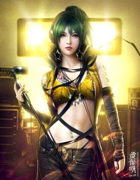 Vocaloid Sonika by MarioWibisono