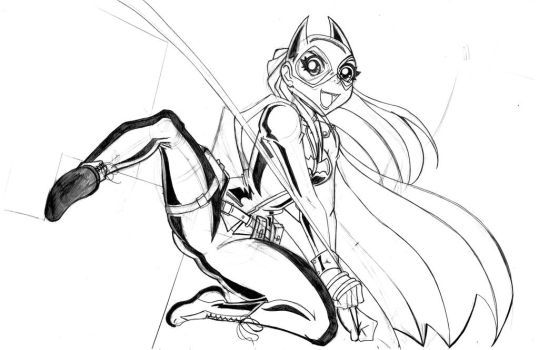 Batgirl New Design 2 by the-kid36