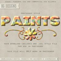 PS Style: PAINTS by HGGraphicDesigns