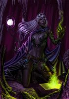 Dark Elf by SaraForlenza