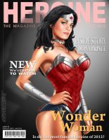 Wonder Woman Magazine Cover by Ultrajack