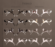 Fawnlings: The Piebald Mutation by Ehetere