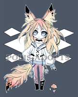 [CLOSED] adopts auction Kemonomimi 1 by Polis-adopts