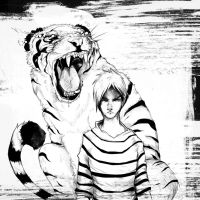 Calvin and Hobbes by Hearing-Sounds