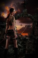 Lara makes is through the night by BigA-nt