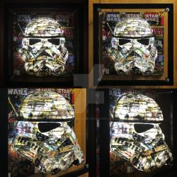 Star Wars Stormtrooper Lamp Commission by themindisright