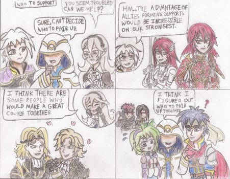 [FEH 4Koma] #57: Who to Support by Willanator93