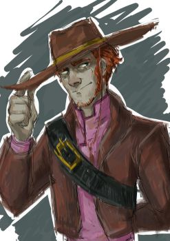 cowboy  by Broung