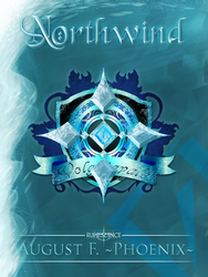 Northwind --Cover for NaNoWriMo 2014-- by daeVArt