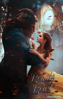 Beauty and the Beast Poster by Lovehardtwihard