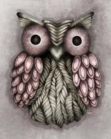 Francis the Owl by Adrianna-Grezak