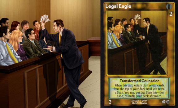 Legal Eagle Card by castortroy3497