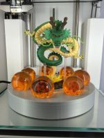 Dragon ball stand with Shenron 3d printed by scampy001
