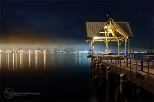 Vancouver Night Cityscape by sweetcivic