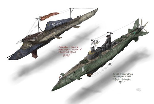 Destroyers of 2 Great powers by AoiWaffle0608
