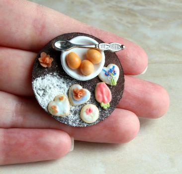 1:12 Scale Decorated Cookies by fairchildart