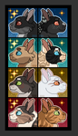 Bryniel Icons -- Leaders and Deputies by StormStarDragon