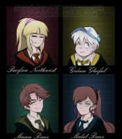 Reverse Falls and Harry Potter crossover by AriamJan