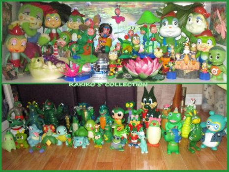 GREEN GROUP SOFT VINYL TOYS COLLECTION by RakikoHime